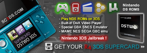 SuperCard DSTWO 3DS R4